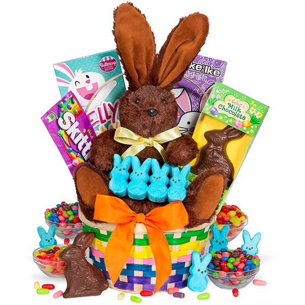 Why do we give easter baskets easter gift baskets negle Choice Image