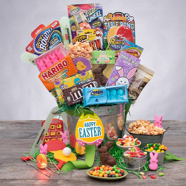 2020 Easter Candy & Toys Basket gift pail