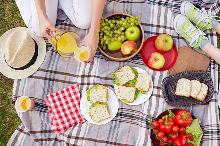 Picnic for Mother's Day