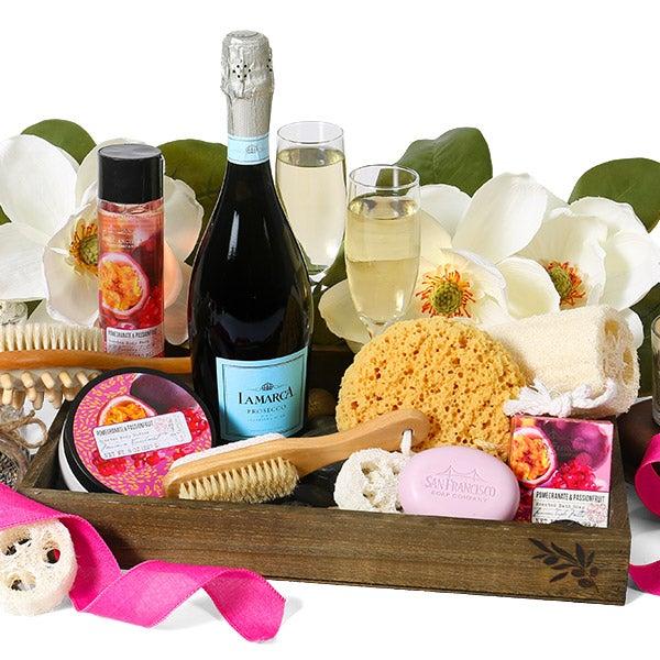 Premium Spa Wine Gift Crate