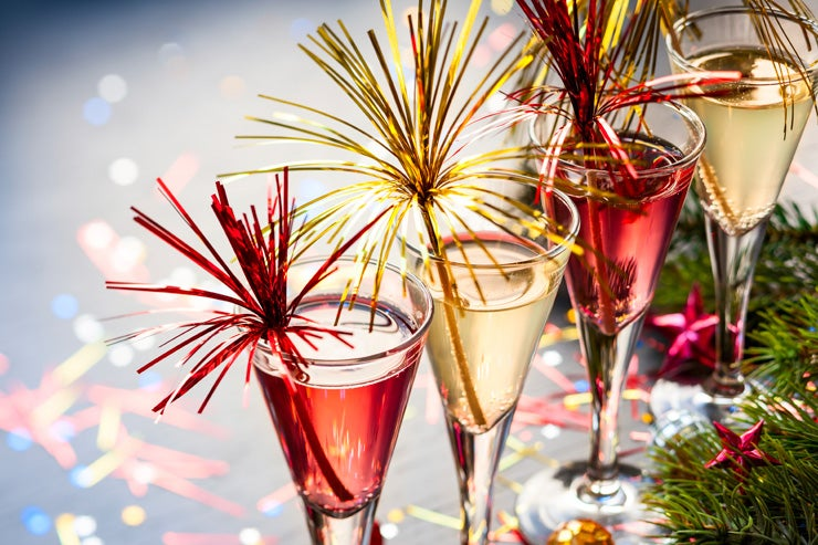 7 Champagne Cocktails to Serve on New Year's Eve