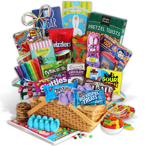Easter Baskets With Toys 80