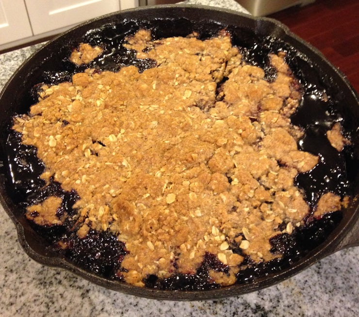 Cherry Pear Crumble Recipe