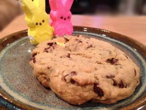 Poor bunnies looking sadly upon their comrade who's inside this delicious cookie :)