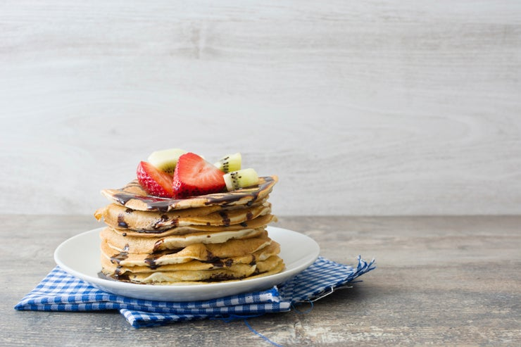 How to Make Chocolate Chip Pancakes