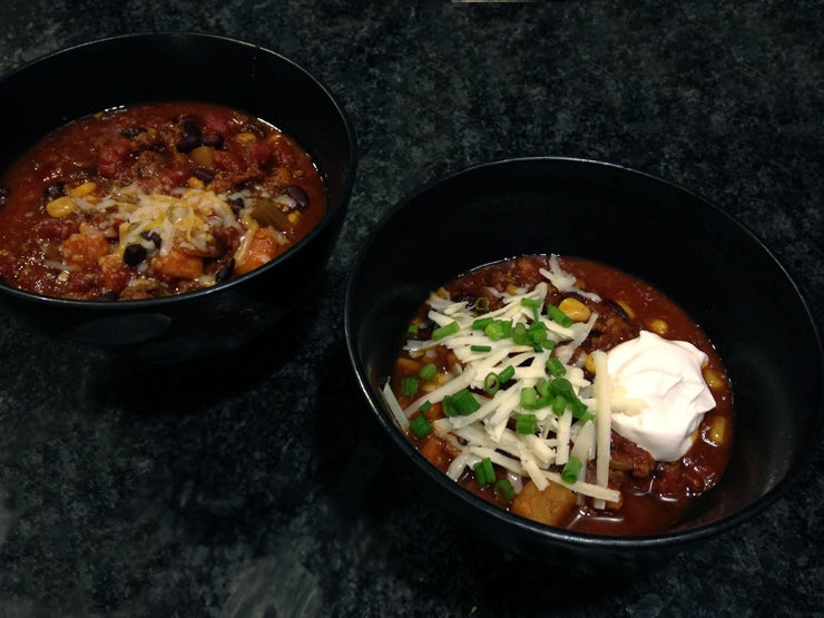Crockpot Recipe: Sweet Potato Chili