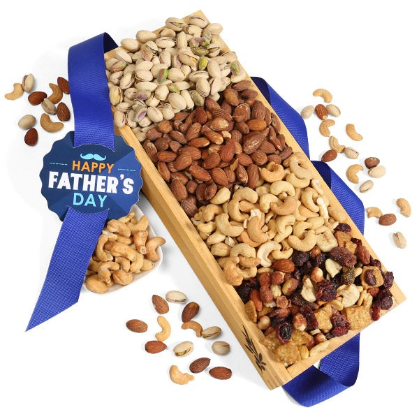 Father's Day Miced Nut Collection Gift Crate