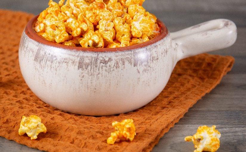 Popcorn in a Ceramic Pot