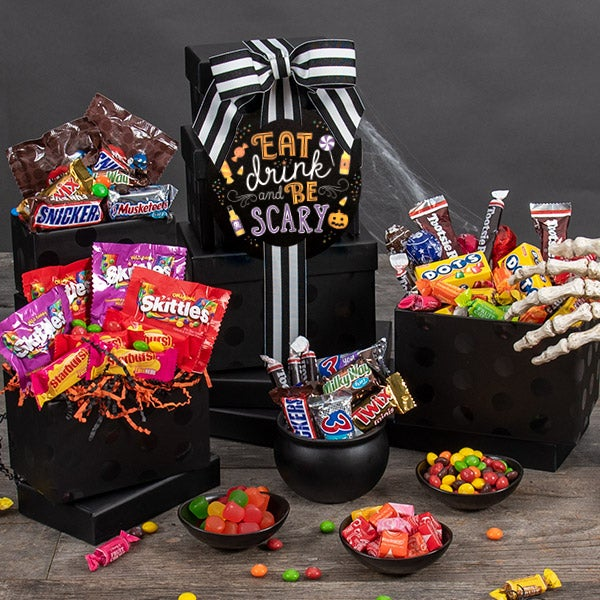 Halloween Candy Stash Tower