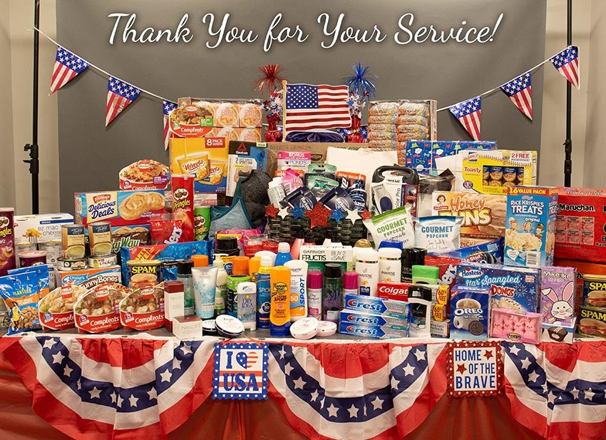 4th of July Military Donation Drive