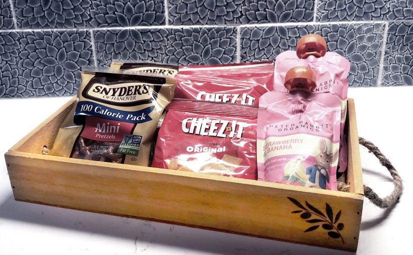 Snacks in a Tray Horizontal Photo