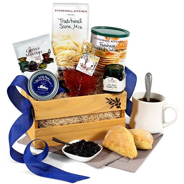 Breakfast Gift Basket Classic by GourmetGiftBaskets com