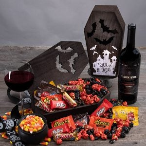 Wine and Candy crate