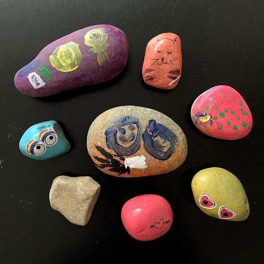 Summer Activities For Kids: Painted Rocks!