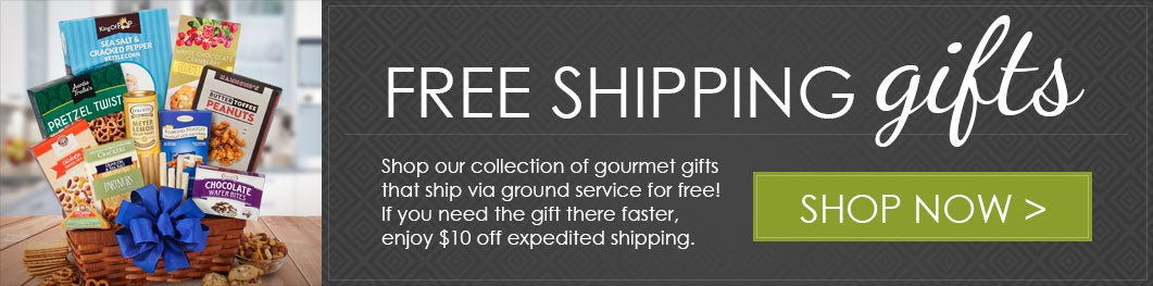 Free Shipping Gourmet Gift Baskets
