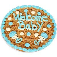 Welcome Baby Boy Cookie Cake 8669