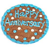 Happy Anniversary Brownie Cake 8863