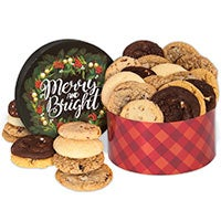 Merry & Bright Cookie Gift Box 8966
