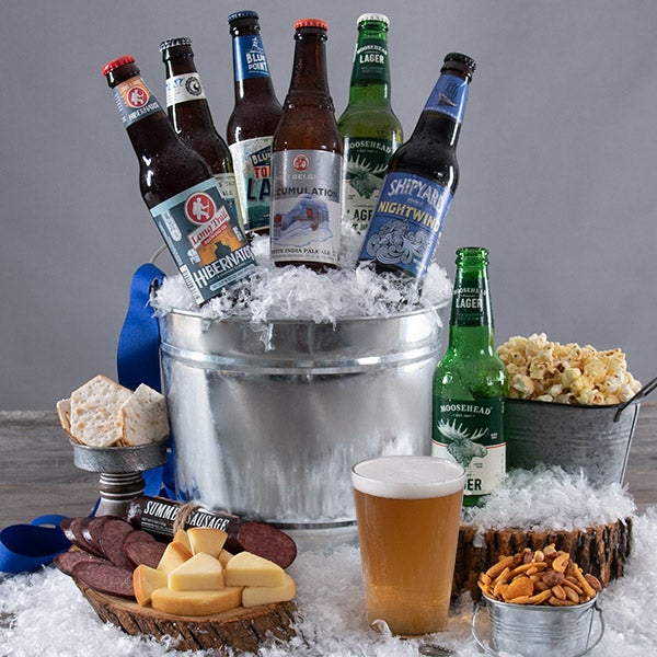 Winter Seasonal Beer Bucket