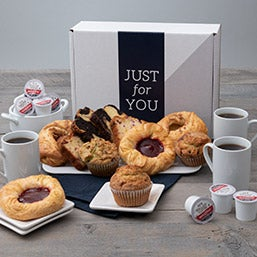 Just For You! Breakfast Pastries & Coffee