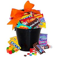 Fall Harvest Candy Bucket 1875