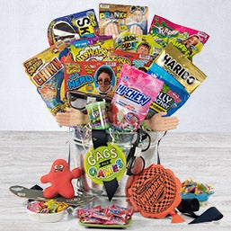 Gags And Games Candy And Toy Gift Bucket