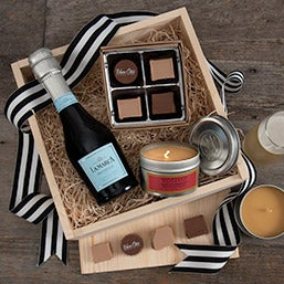 Here's to You Luxury Champagne Gift Crate