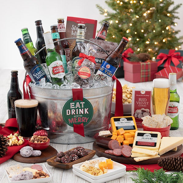 Eat, Drink, & Be Merry Beer Bucket