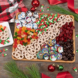 Christmas Candy Charcuterie Platter
