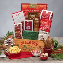 Merry & Bright Sweets Crate