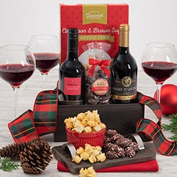 Christmas Red Wine Duo