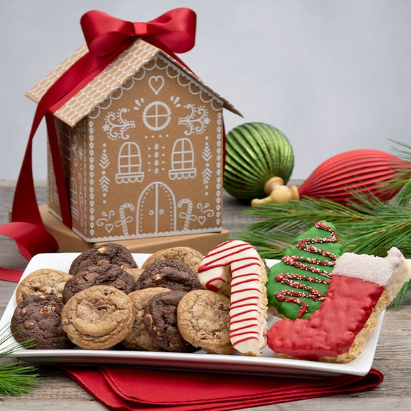 Cookies For Santa Gingerbread House