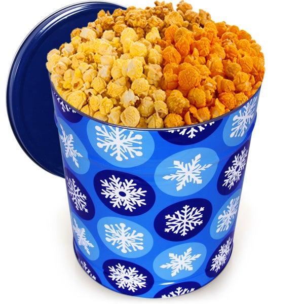 Winter Wonderland Popcorn Tin - Traditional 3.5