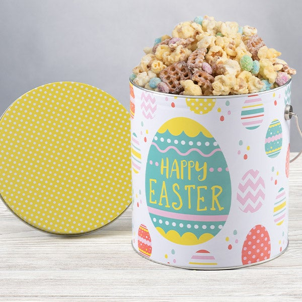 Easter Celebration Popcorn Tin - 1 Gallon