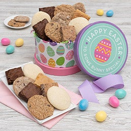 Gift baskets for grandparents by gourmetgiftbaskets happy easter cookie brownie gift box 8987 negle Images