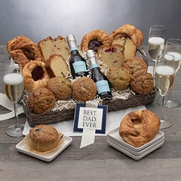 Father's Day Breakfast & Champagne Gift Basket 4696C