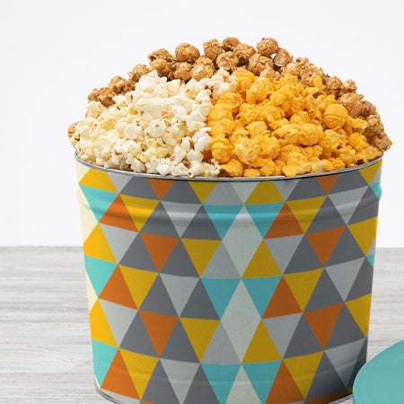 Father's Day Popcorn Tin - Traditional 2