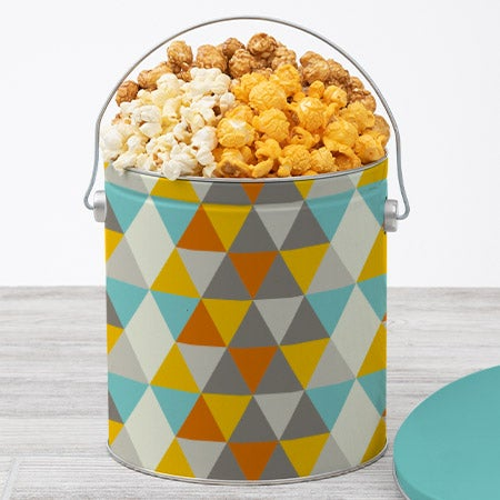 Father's Day Popcorn Tin - Traditional 1