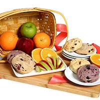 Fruit & Scones Gift Basket