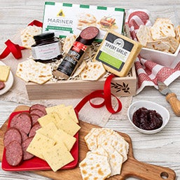 Gourmet Meat & Cheese Gift Baskets