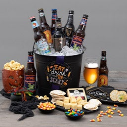 Eat, Drink & Be Scary Halloween Beer Bucket