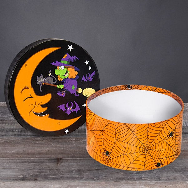 Halloween Candy Stash - Witch's Kitchen Round Box