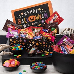 Halloween Candy Stash Tower