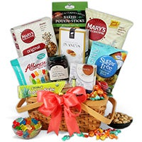 Sugar Free Gift Basket 4241