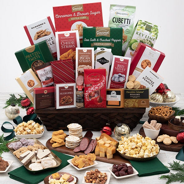 Christmas gift baskets images