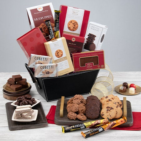 Happy New Year Gift Basket by GourmetGiftBaskets.com