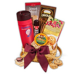Corporate Snack Gift Basket with Tumbler
