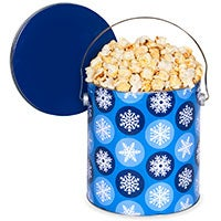 Dashing through the Snow Popcorn Tin 7268