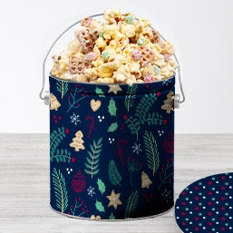 Cookies For Santa Popcorn Tin 7266