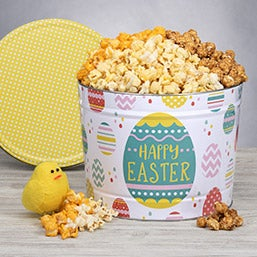 Gift baskets for grandparents by gourmetgiftbaskets easter popcorn tin negle Images